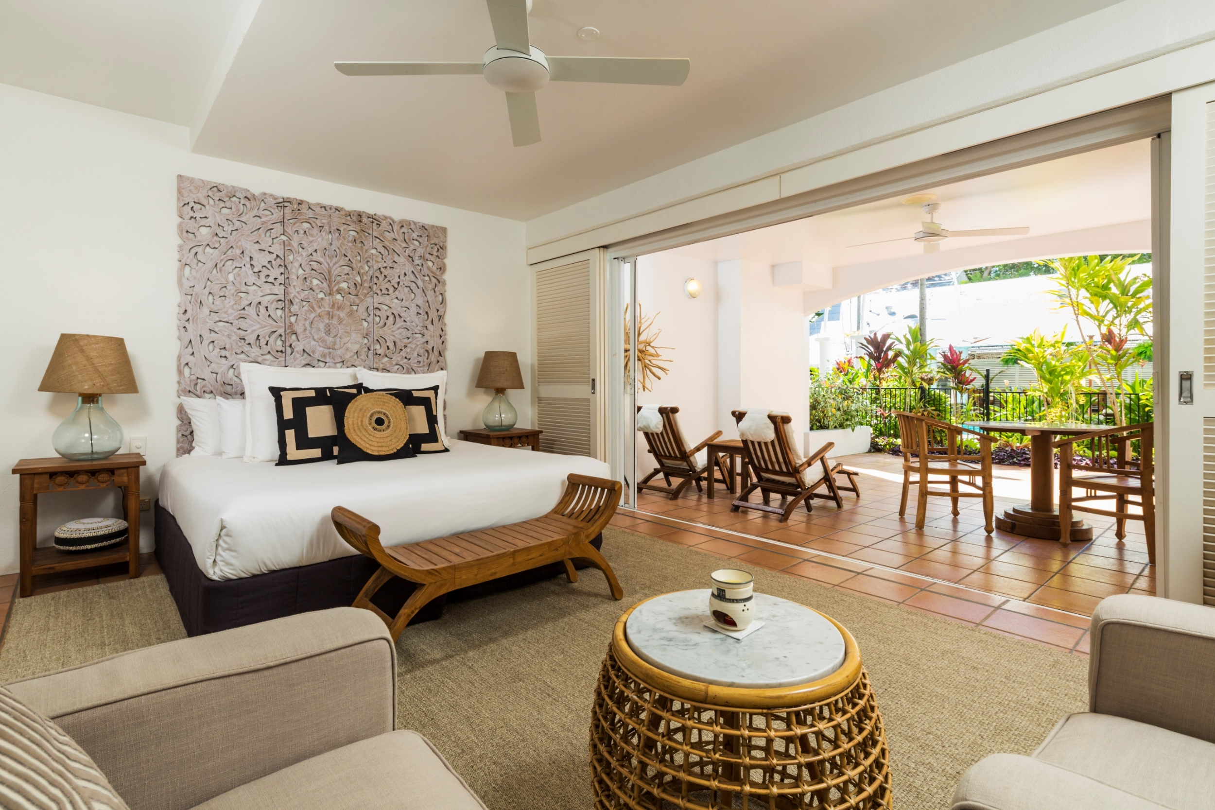 Verandah King Room